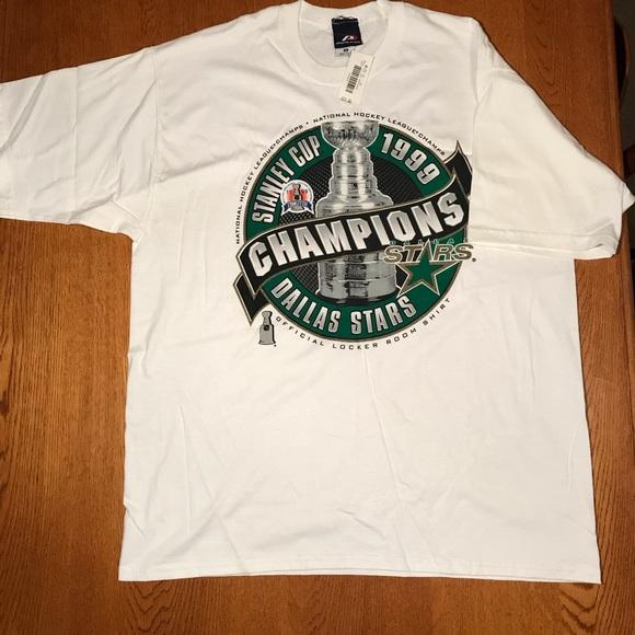 Pro Player Shirts 1999 Dallas Stars Nhl Champs Tee Poshmark